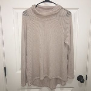 Beige Pull Over Sweater